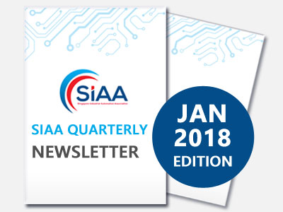 SIAA-Singapore-Industrial-Automation-Association-Newsletter-2018-01