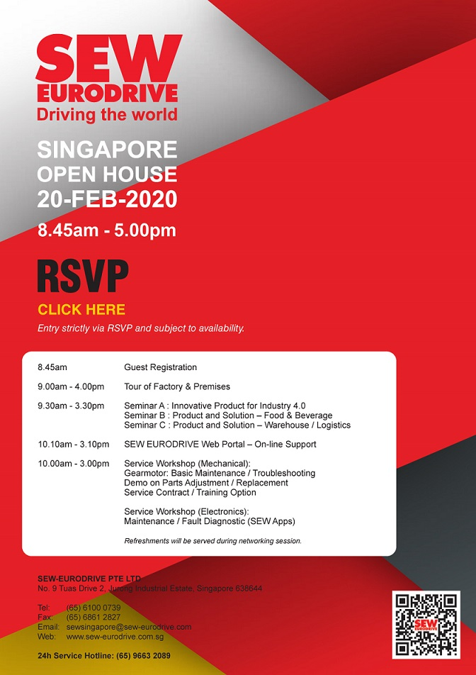 Singapore-Industrial-Automation-Association-SIAA-event-2020-SEW-Eurodrive_event details